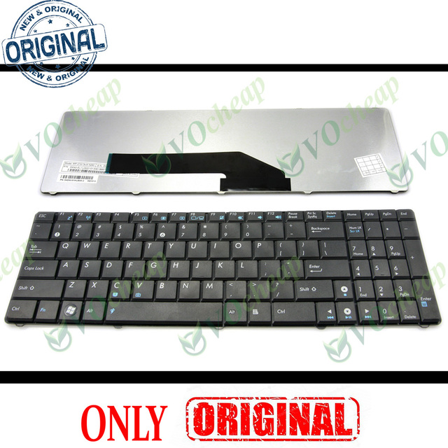 New US Notebook Laptop keyboard for ASUS K50 K50AB K50AD AF K50C K50IN K50IJ K61IC K70 K70AB K70AC K70IC K70IJ K70Io F52q X70I