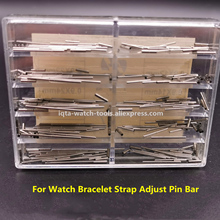 Free Shipping Watch Accessories 1 Set Stainless Steel Pins with Tubes 0.9*10mm~28mm for Watch Bracelet Strap Adjust Pin Bar