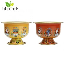 Holy Storage Cup Holder Bowl Auspicious Divine Tibetan Buddha Water Bowl Holy Water Cup Buddhist Supplies