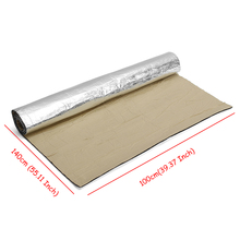 100cmx200cm Roll 5mm Car Sound Heat Insulation Cotton Sound Proofing Deadening Insulation Foam Mat Acoustic Panel Buy Cheap In An Online Store With Delivery Price Comparison Specifications Photos And Customer Reviews