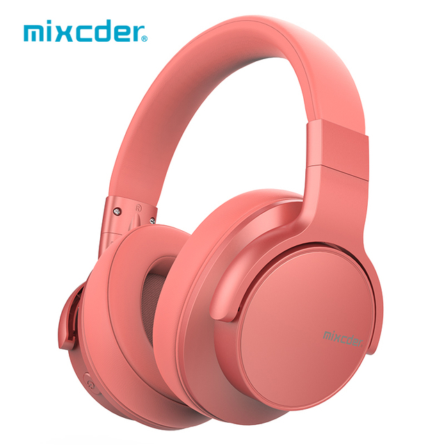 Mixcder E7 Upgraded Active Noise Cancelling Headphones Wireless Bluetooth Headset 5.0 ANC Stereo With Mic for Phone