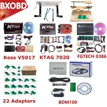 Kess V2.53 мастер Kess V2 5,017 полный Fgtech Galletto 4 V54 Kess Ktag Адаптер BDM BDM100 ECU программист BDM Рамка для KTAG 7,020