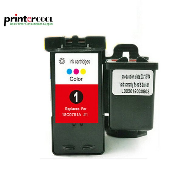 einkshop for Lexmark 1 Remanufactured Ink Cartridge  For Lexmark 01 X3470 X2300 X2310 X2330 X2350 X2470 X3330 X3370 Z730 Z735