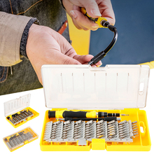 60 In 1 Chrome Vanadium Precision Screwdriver Tool Kit Magnetic Screwdriver Mobile Phone Clock and Other Precision Tool Repair