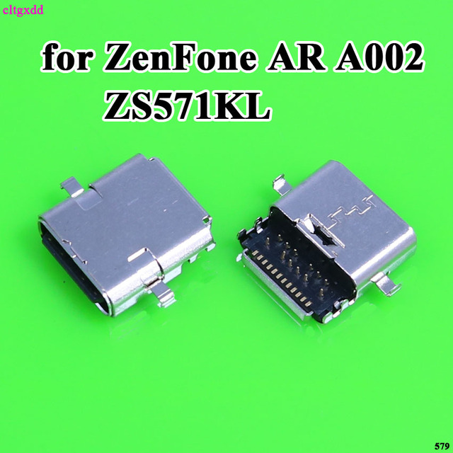 cltgxdd For Asus ZenFone AR A002 ZS571KL micro mini usb charge charging Type c connector plug dock jack socket port