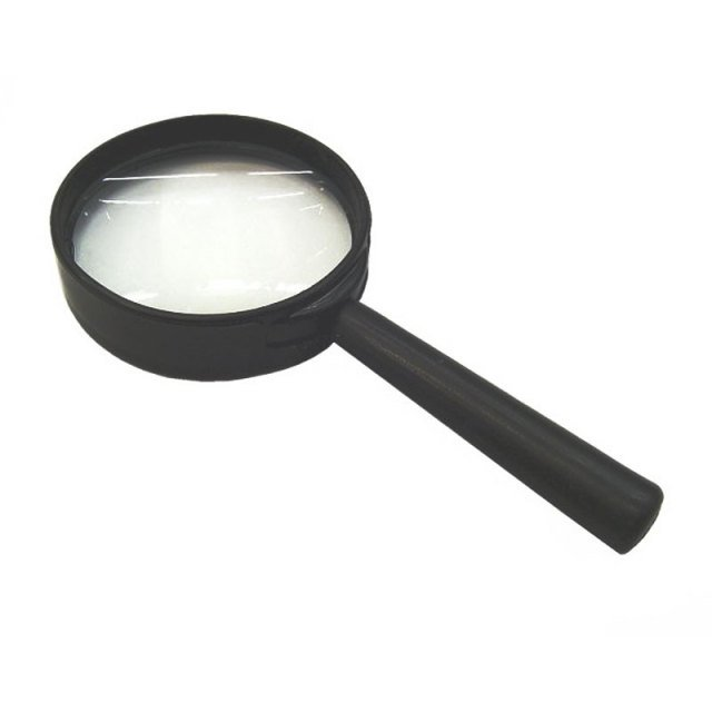40mm Diameter Lens 8x Straight Handle Magnifiers Loupe Magnifying glass reading