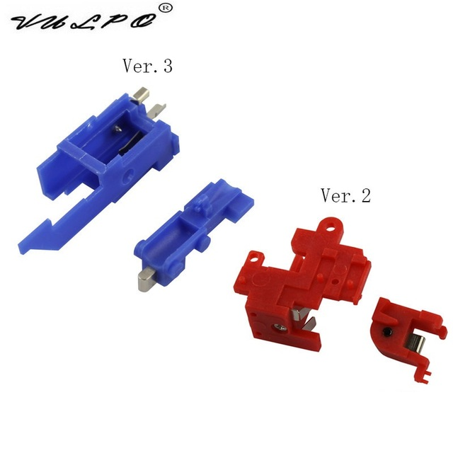 VULPO 3PCS/ Lot Heat Resistance Switch for Airsoft Ver.2/Ver.3 AEG Gearbox Hunting Accessories - Free Shipping