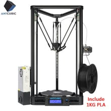 ANYCUBIC Kossel 3D Printer Linear Plus Half Assembled with Auto Leveling Large 3D Printing Size Impressora 3D DIY Kit