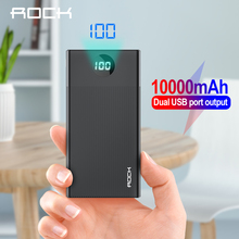 10000mAh Power Bank Portable External Battery Charger 10000 mAh Slim USB Powerbank Charger For iPhone 11 Xiaomi Mi 9 PoverBank