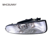 Front Fog Light For Skoda Superb 2009 2010 2011 2012 2013 Car-styling Front Halogen Fog Lamp FogLight Without Bulbs