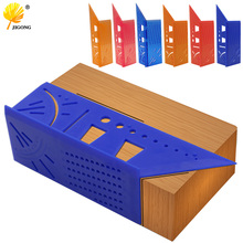 Plastic Woodworking 3D 90 Degrees Woodworking Multifunctional Square Gauge Angle Protractor Over The T-Type Ruler Angle