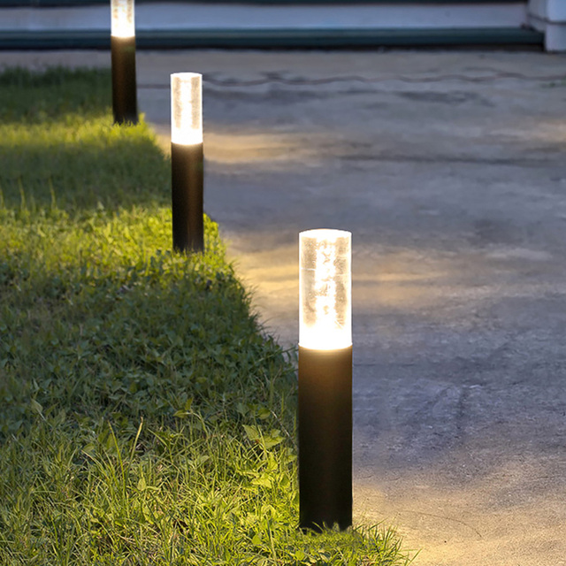 Thrisdar 30cm 50cm Outdoor Garden Lawn Lamp 7w Acrylic Bubbles Bollard Light Villa Landscape Pathway Pillar Lawn Light Buy Cheap In An Online Store With Delivery Price Comparison Specifications Photos And Customer