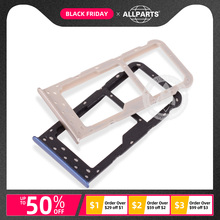 SIM Card Holder For Huawei P Smart SIM Card Cato Tray Replacement Parts For Huawei Enjoy 7S Black Gold Blue
