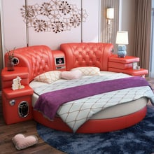 Camas Dormitorio Bedroom Furniture Pretty Massage Leather Bed Frame Round Bed With Tv Buy Cheap In An Online Store With Delivery Price Comparison Specifications Photos And Customer Reviews