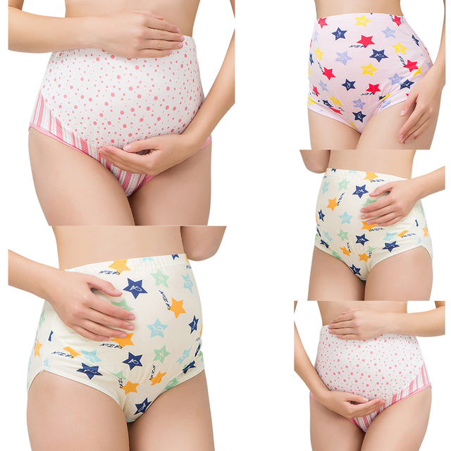Maternity Women Panties Underwear Lingerie for pregnant Female Underwear Panties Intimate Briefs Ladies Underpants Knickers D30