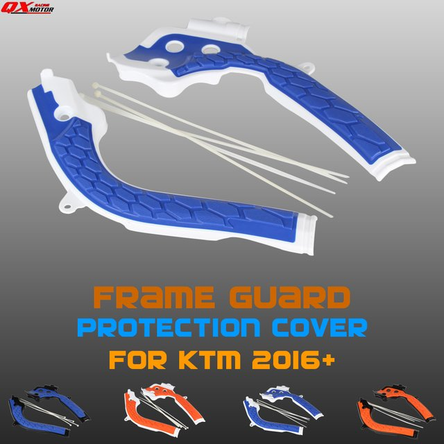Motorcycle X-Grip Frame Guards For KTMHusqvarna TE125 TE250 TE300 FC250 FC350 FC450 FE250 FE350 FE450 Dirt Bike MX Motocross
