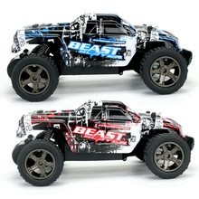 2 Pcs New RC Car 2811 2.4G 20KM/H High Speed Racing Car Climbing Remote Control Car RC Electric Car Off Road Truck 1:20 RC , Red