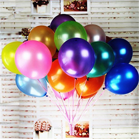 100pcs 12Inch Thicken 2.8g Pink Latex Balloon Inflatable Helium Air Balls For Wedding Birthday Party Decoration Balloon Float Toy 2