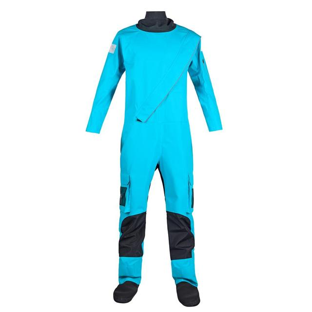 Women's Dry Suits Front Zipper Drysuit Waterproof Protection for Whitewater Kayaking or Sea Touring