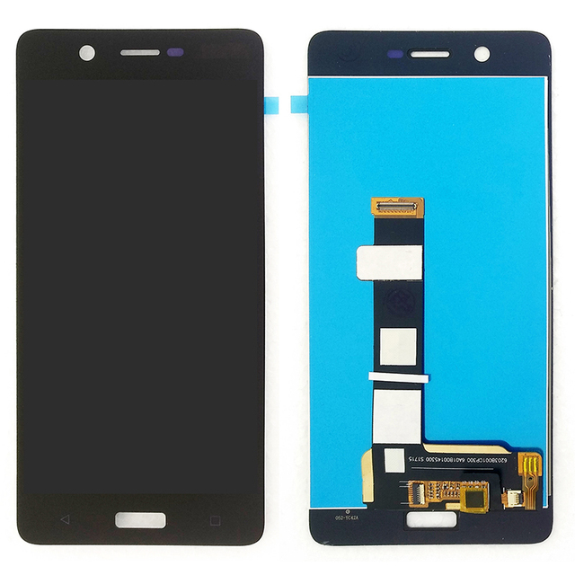 "For Nokia 5 TA-1024 TA-1027 TA-1044 TA-1053 LCD Display Touch Screen Digitizer Assembly Replacement Parts 5.2"" 1280x720"