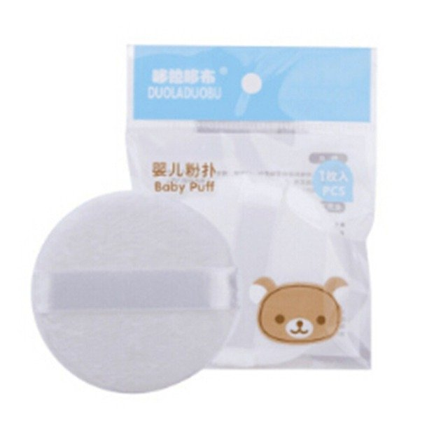 Portable Loose Powder Cosmetic Puff Baby Soft Face Body Round Beauty Large Powder Puff Makeup Foundation Sponge Makeup Tool
