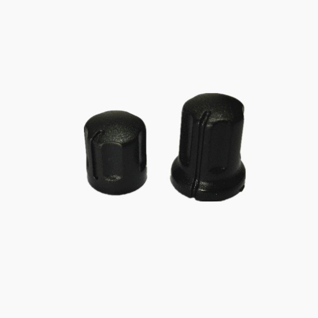 10 Pair New Channel Volume Control Power Switch Knob Cap For Motorola GP88 GP300 Two Way Radio Accessories