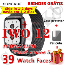 SONGKU smartwatch IWO 12 Pro Watch series 5 Смарт-часы 40 мм 44 мм Bluetooth часы для apple iPhone Android phone PK IWO MAX 13
