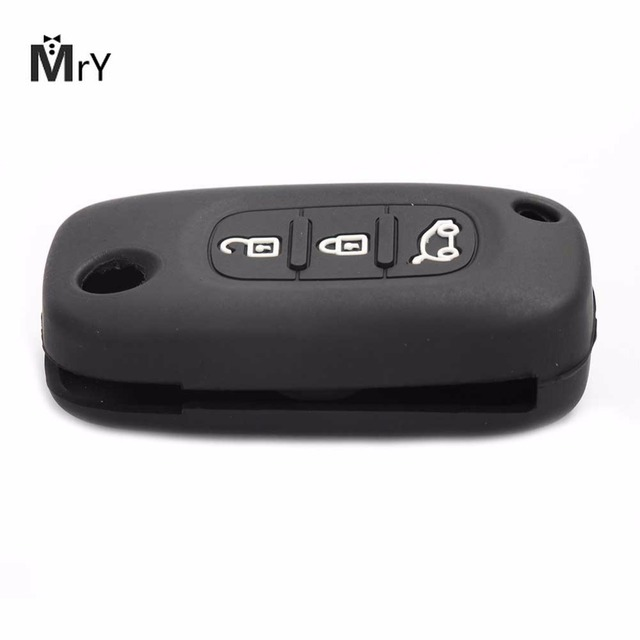 3 Buttons Car Key Cover Case For LADA Sedan Largus Kalina Granta Vesta X-Ray XRay Remote Key Fob Cover Protect Set Key Shell
