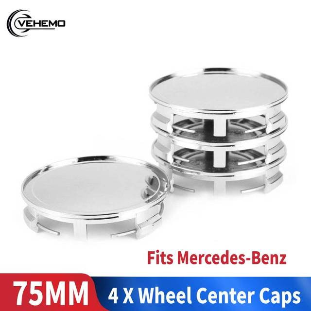 4pcs Wheel Hub Cover Center Cover Center Replaceable Center Caps for Dedicated for Mercedes Benz