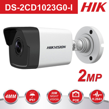 Hikvision 1080P Waterproof Bullet IP Camera DS-2CD1023G0-I Camera 2 Megapixel CMOS CCTV IP Security Camera PoE Outdoor