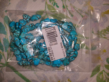 Breathtaking! They came perfectly packed, the quantity is correct and the colour is more blue than green (it is the perfect turquoise colour). Even though they are not real turquoise, they look so natural! All the beads are very different from each other, and I think that the dye is very hard to fade. Thank you so much to Nancy for the excellent customer service: fast, comprehensive and kind seller which takes responsibility for any problem ♥ Thanks GMB724 Official Store, I will buy again and again! :)    Захватывающий дух! Они идеально упакованы, количество правильное, цвет больше синего, чем зеленого (это идеальный бирюзовый цвет). Хотя они не настоящие бирюзовые, они выглядят так естественно! Все бусинки сильно отличаются друг от друга, и я думаю, что краситель очень трудно выгореть. Огромное спасибо Нэнси за отличное обслуживание клиентов: быстрый, всеобъемлющий и добрый продавец, который берет на себя ответственность за любые проблемы :)