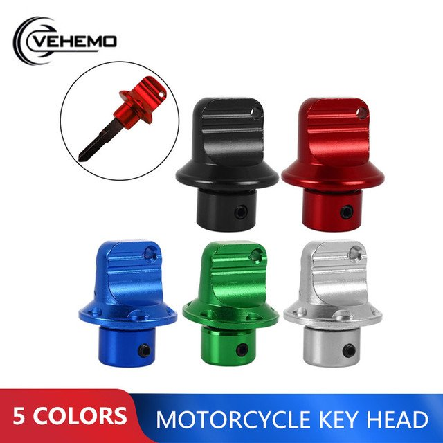Motor Key Head Key Retrofit Universal Motorcycle Key Head Electric Bicycle Key Head Durable Mouldings