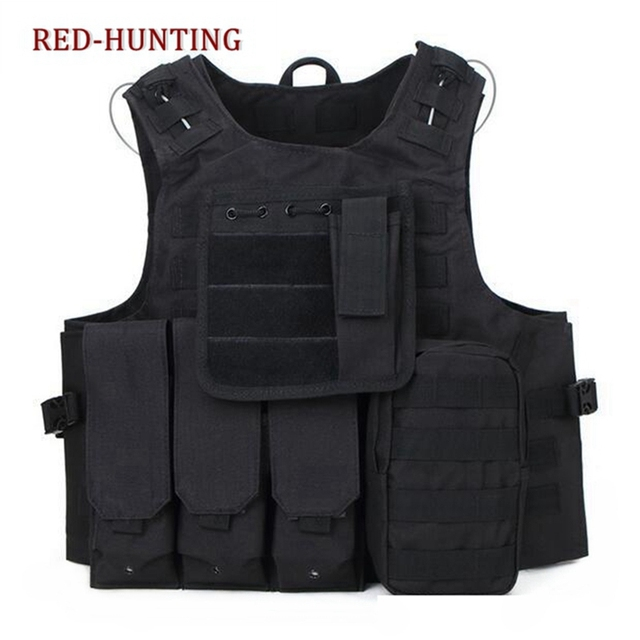 Airsoft Tactical Military Molle Combat Assault Plate Carrier Vest USMC Tactical vest  CS outdoor clothing Hunting vest