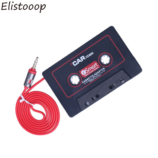 3.5mm Jack Car Cassette Player Tape Adapter Cassette Mp3 Player Converter For iPod For iPhone MP3 AUX Cable CD Player