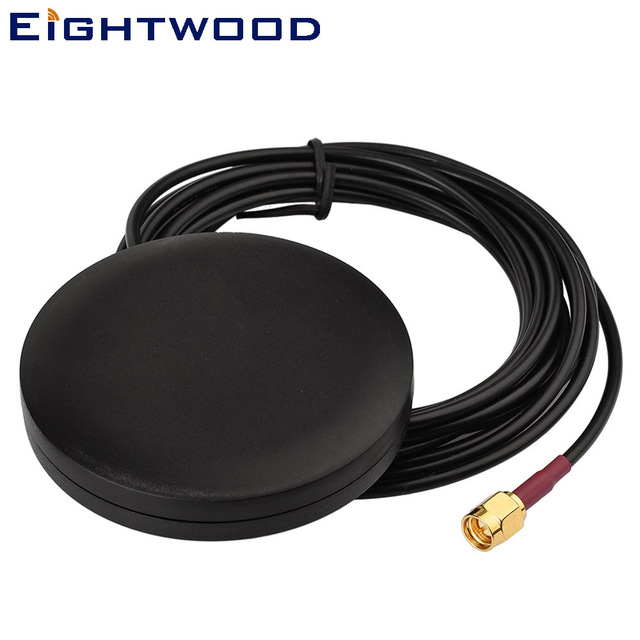 Eightwood Protable 4G LTE Magnetic Omni SMA Male Antenna Aerial for 4G LTE Router Vehicle Truck RV Marine Mobile Booster System