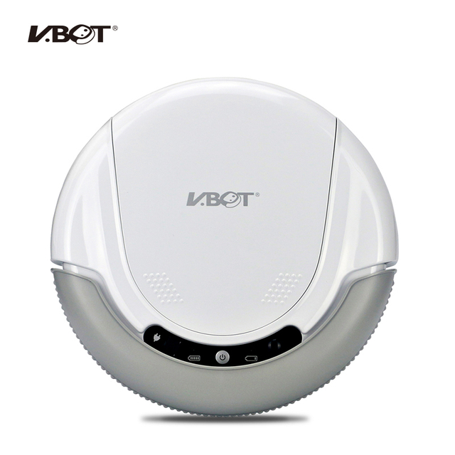 VBOT T272 Robot Vacuum Cleaner, Home Household 500PA Power  Suction Sweep Machine for Pet hair, with Remote Control and Mop