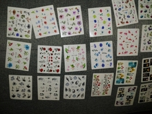Goodness me! I did not realize I was getting 24 sheets of nail stickers/tattoos! This is such an awesome deal! I recommend these very much, it's like my girl dreams have come true! And they're super cute! Love!!!!