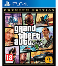 Grand Theft Auto V Premium Edition Ps4 Playstation 4 Games Take 2 Games возраст 18 +