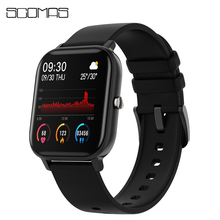 """SCOMAS Men Women Smart Watch 1.4""""Full Touch Screen Fitness Tracker Heart Rate Blood Pressure Monitor Smartwatch For iOS Android"""